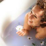 flower boudoir bath